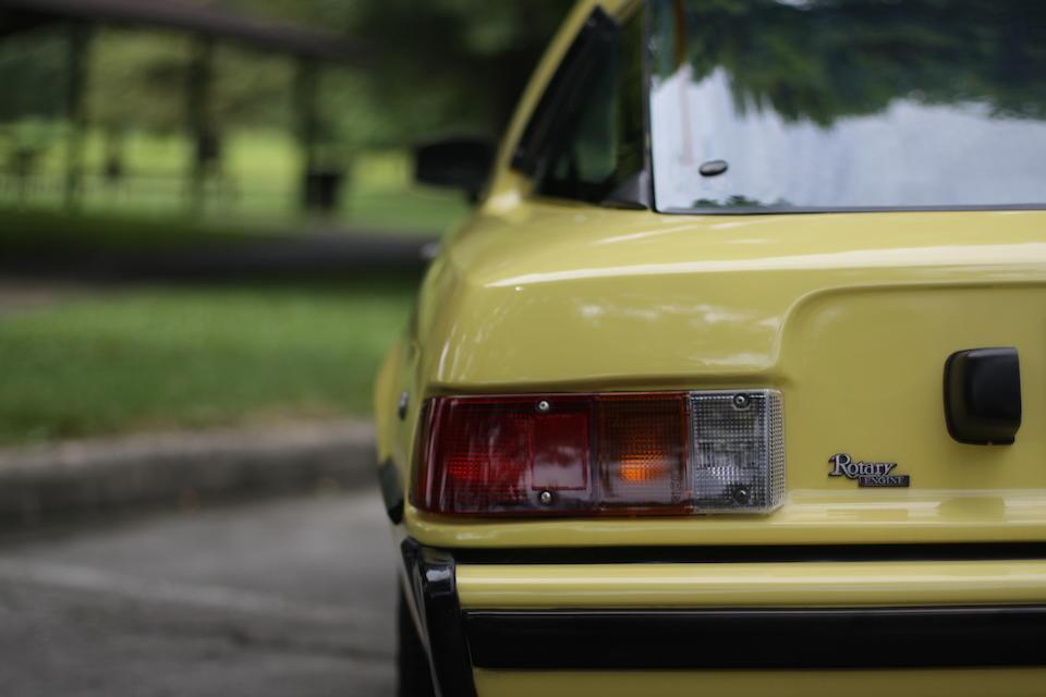 <b>1979 Mazda RX-7</b><br />Chassis no. SA22C553839