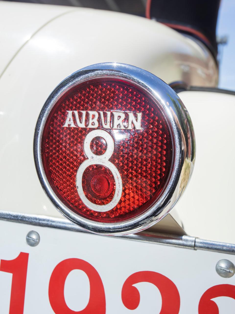 <b>1933 Auburn 8-105 Cabriolet</b><br />Chassis no. 1145 F <br />Engine no. GC 471