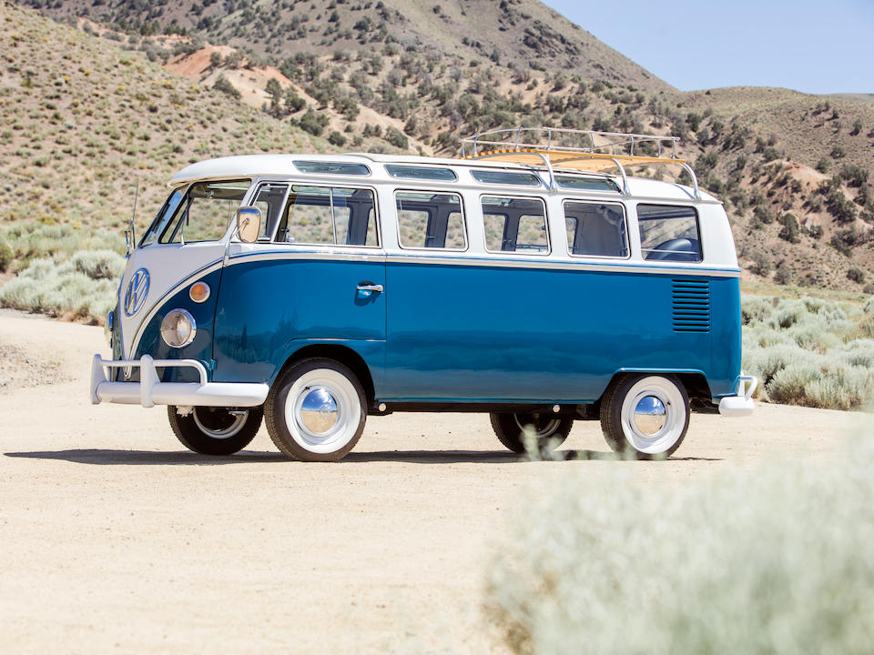 <b>1965 Volkswagen Type 2 De Luxe Samba Bus</b><br />Chassis no. CA397005<br />Engine no. AE225322