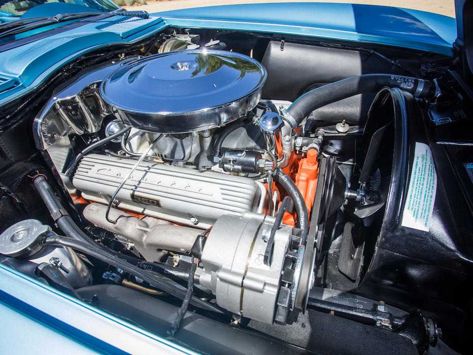 <b>1965 Chevrolet Corvette 327/350HP Roadster</b><br />Chassis no. 194675S118703<br />Engine no. 5118703 F0520HT