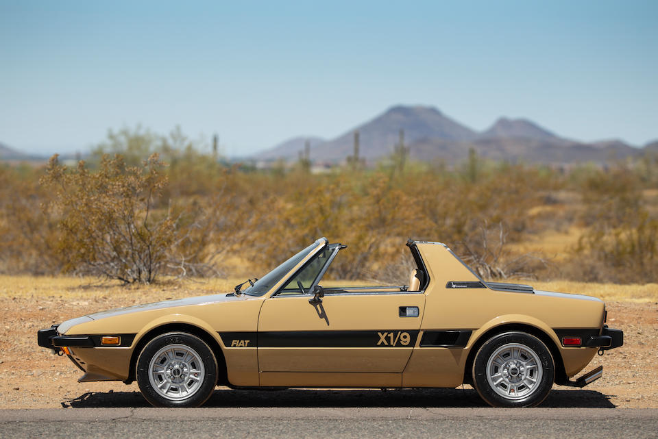 <b>1974 Fiat X1/9</b><br />Chassis no. 128AS-0012555