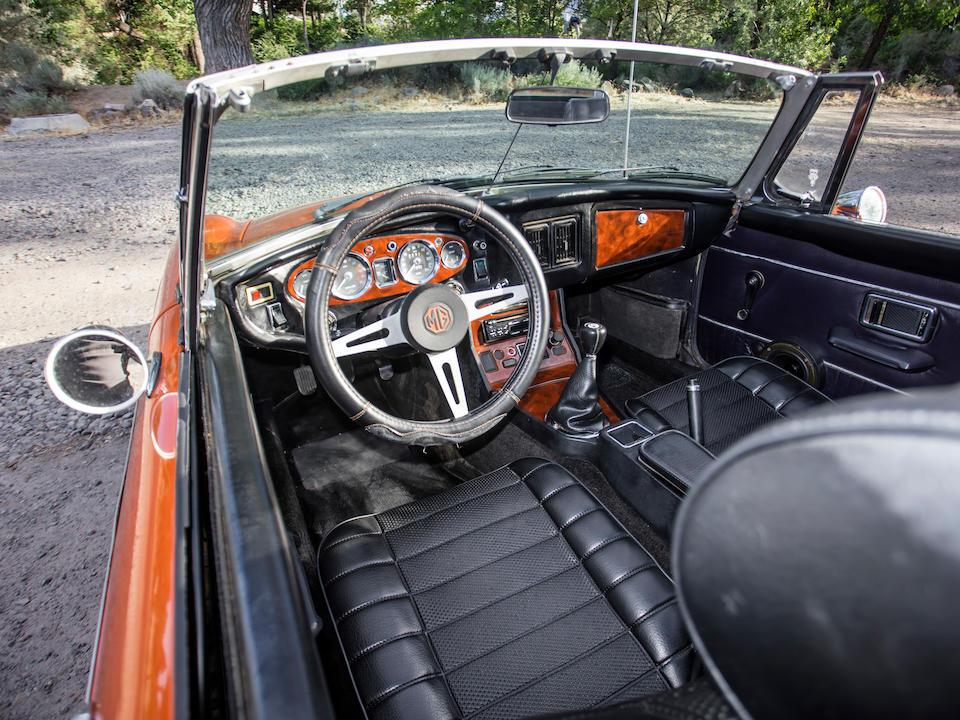<b>1973 MGB Roadster</b><br />Chassis no. GHN5UD300883 G <br />Engine no. 18V-672-Z-L/4891