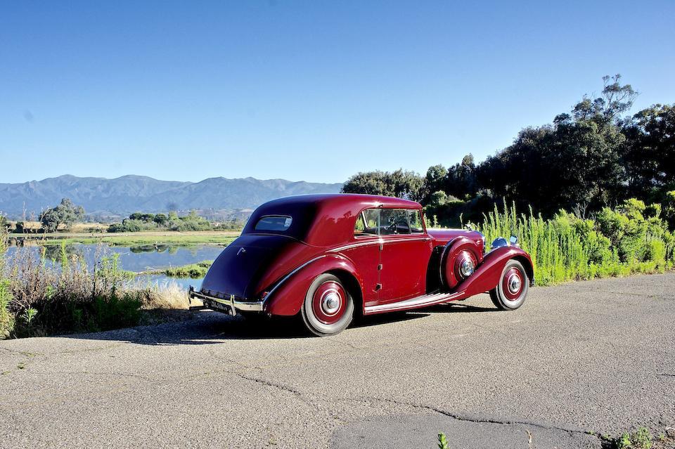 Bonhams : 1939 Bentley 4 ¼ Liter Pillarless CoupeChassis no