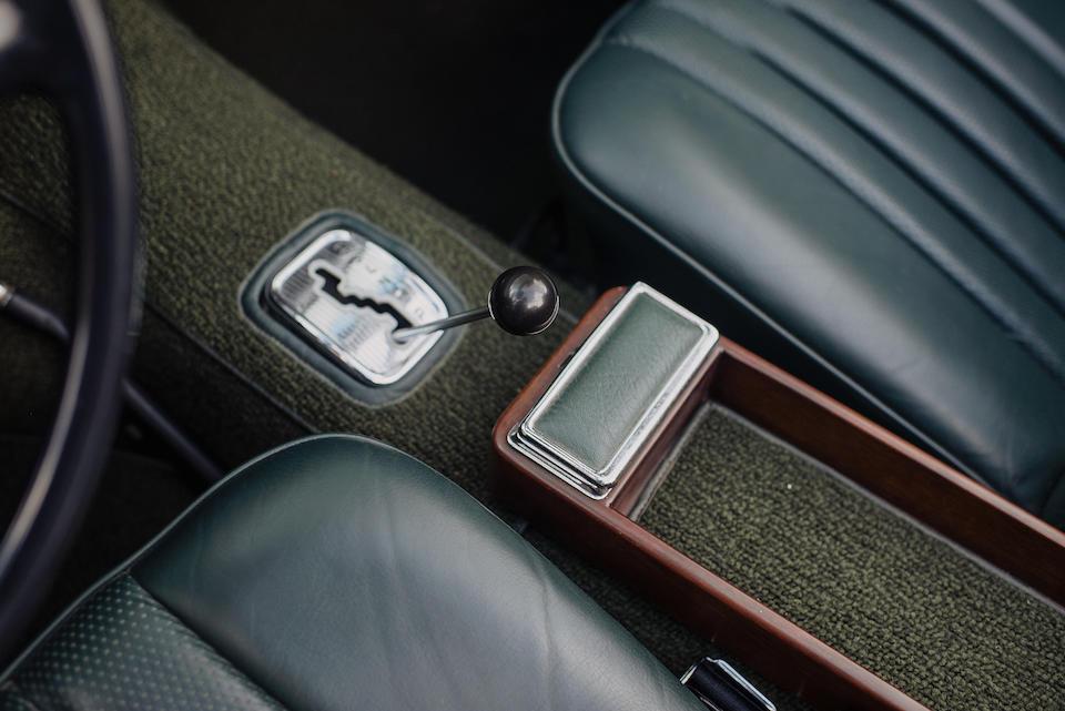 <b>1969 Mercedes-Benz 280SL</b><br />Chassis no. 113044-12-009475