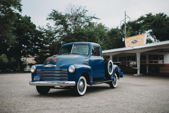 <b>1949 Chevrolet 3100 Pick-up</b><br />Chassis no. 3GP-K 30125