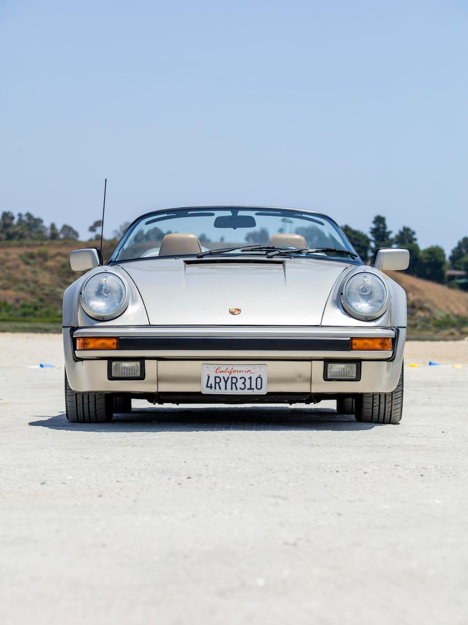 <b>1989 Porsche 911 Carrera Speedster</b><br />VIN. WP0EB0913KS173014<br />Engine no. 64K04614