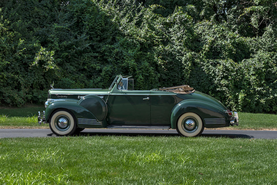 <b>1941 Packard Super 8 One-Sixty DeLuxe Convertible Coupe</b><br />Chassis no. DE14792025