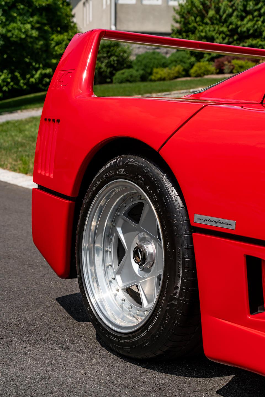 <b>1989 Ferrari F40</b><br />VIN. ZFFGJ34B000079763<br />Engine no. 15307