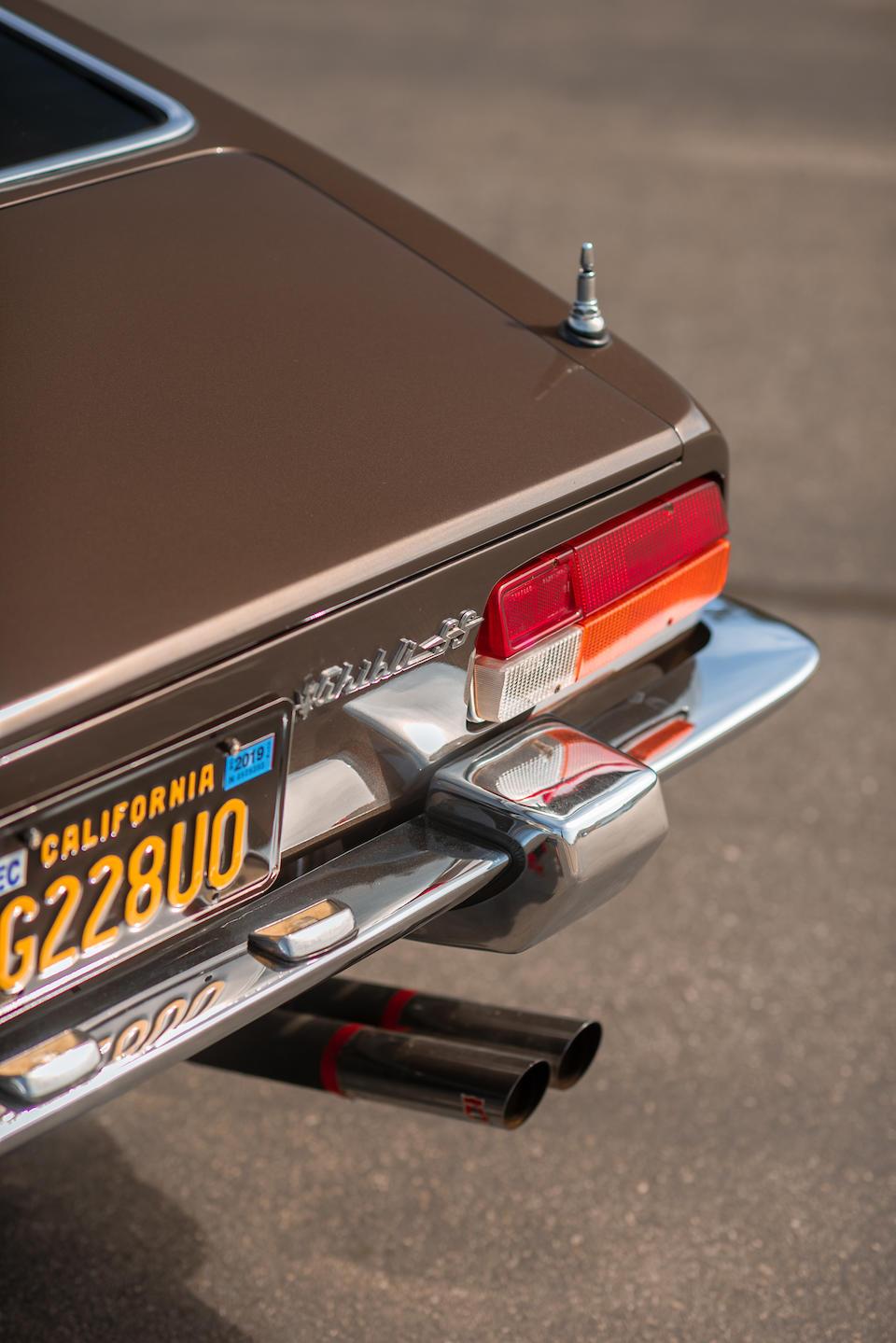 <b>1971 Maserati Ghibli 4.9 SS</b><br />Chassis no. AM115492036