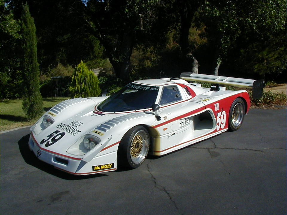<b>1988-90 Peerless GTP Corvette Lola-Chassised IMSA/Group C Racing Coupe</b><br />Chassis no. HU8811-01