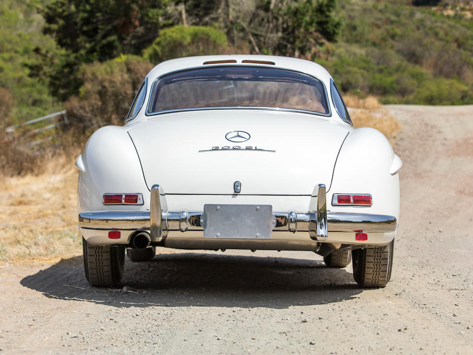 <b>1955 Mercedes-Benz 300SL Gullwing Coupe</b><br />Chassis no. 198.040.5500668<br />Engine no. 198.980.5500707
