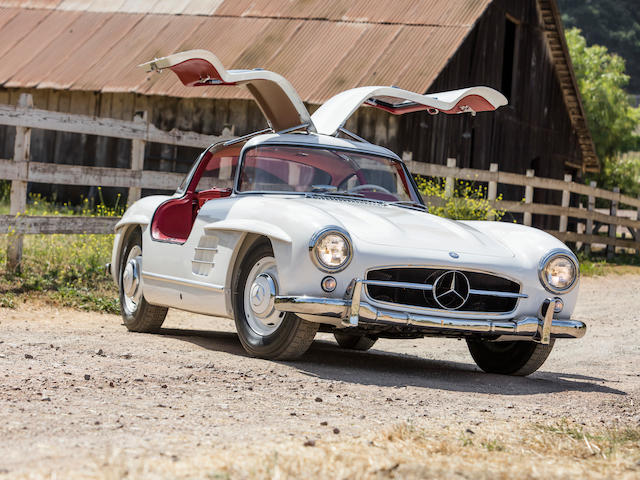 1955 Mercedes-Benz 300SL Gullwing Coupe  Chassis no. 198.040.5500668 Engine no. 198.980.5500707