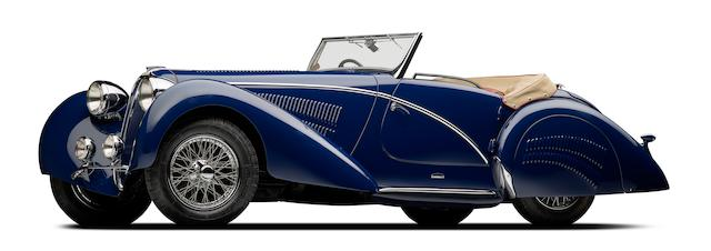 <b>1937 Delahaye 135M Competition Court Roadster</b><br /> Chassis no. 47471<br />Engine no. 47471