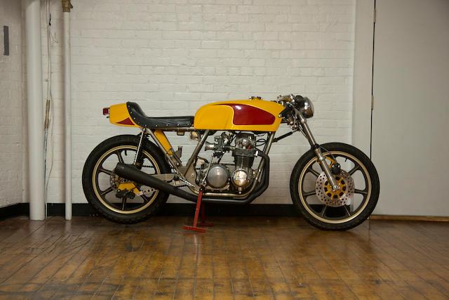 """c.1973 Honda CB550 """"The Mantlepiece"""" Frame no. DMV42985CA Engine no. CB500E-1025485"""