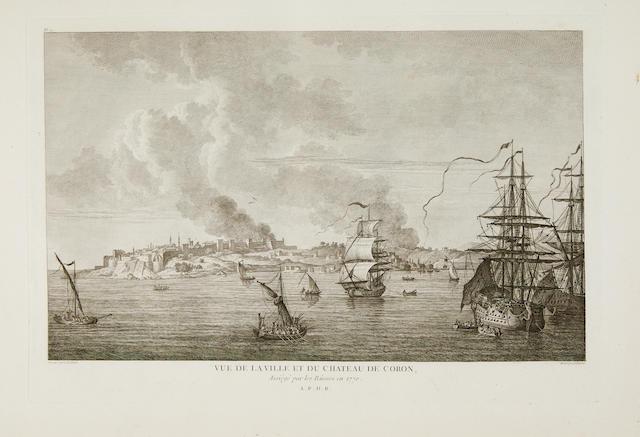CHOISEUL-GOUFFIER, MARIE GABRIEL-AUGUST, COMTE DE. 1752-1817. Voyage Pittoresque de la Grèce. Paris: J.J. Blaise, 1782-1822.