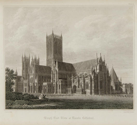 ENGLAND: SCENERY. 4 titles: 1. A Concise Account, Historical and Descriptive, of Lambeth Palace. London: E.W. Braley and W. Herbert, 1806.