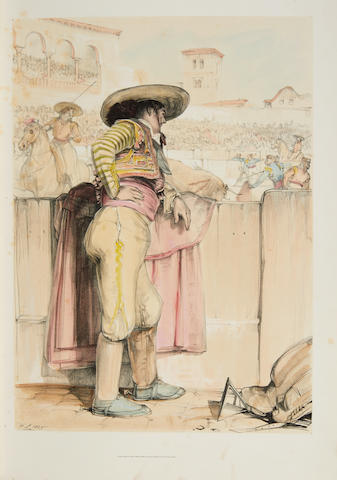 LEWIS, JOHN FREDERICK. 1804-1876. Lewis's Sketches of Spain & Spanish Character Made during his Tour in that Country in the Years 1833-4. London: F.G. Moon, [1836].