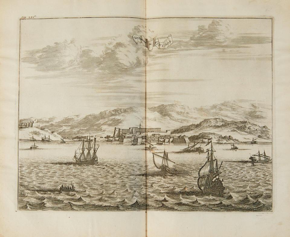 DAPPER, OLFERT. 1636-1689. Description Exacte des Isles de L'Archipel et de Quelques Autres Adjacentes. Amsterdam: George Gallet, 1703.