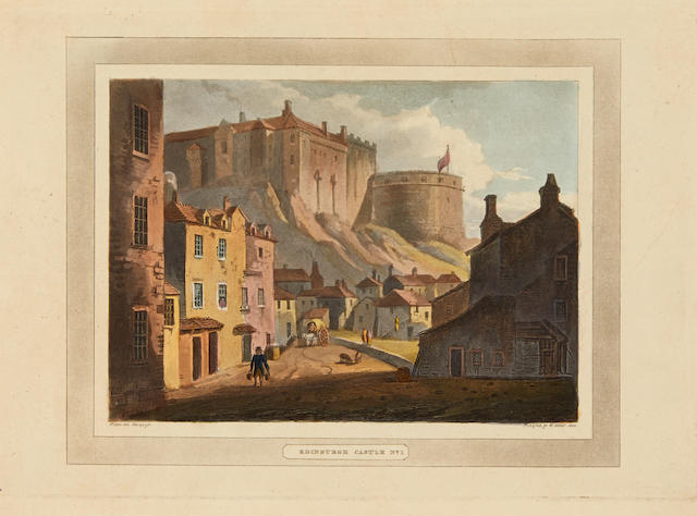 STODDART, JOHN. 1773-1856. Remarks on Local Scenery & Manners in Scotland during the years 1799 and 1800.  London: William Miller, 1801.