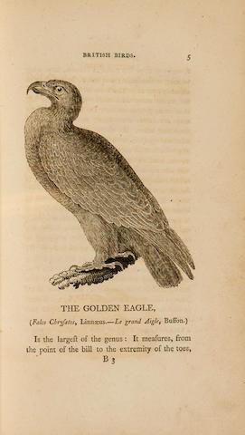 BEWICK, THOMAS. 1753-1828; AND RALPH BEILBY. 1744-1817. History of British Birds. Newcastle: Solomon Hodgson for Beilby & Bewick, 1797-1804.