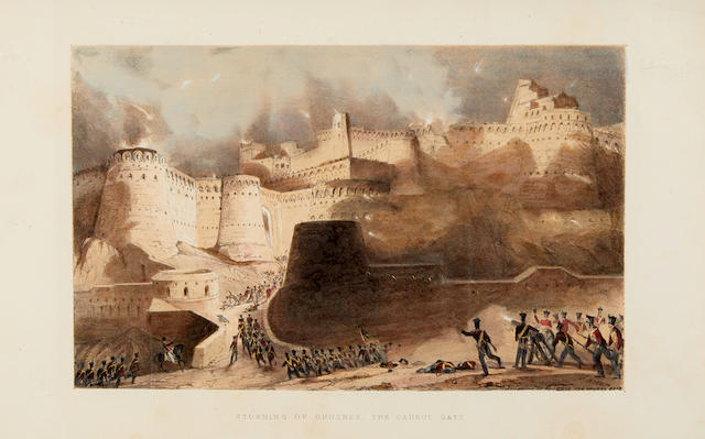JACKSON, KEITH ALEXANDER. 1798-1843. Views in Affghaunistaun ... from Sketches taken during the Campaign of the Army of the Indus. London: W.H. Allen & Co. and T.M' Lean, [1841].