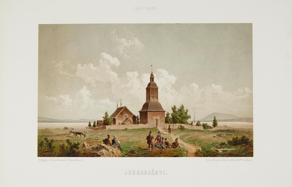 PETTERSSON, CARL ANTON. 1818-1863. Lappland, dess Natur och Folk. Stockholm: C.E. Fritzes (Eklund & Giron), 1866.