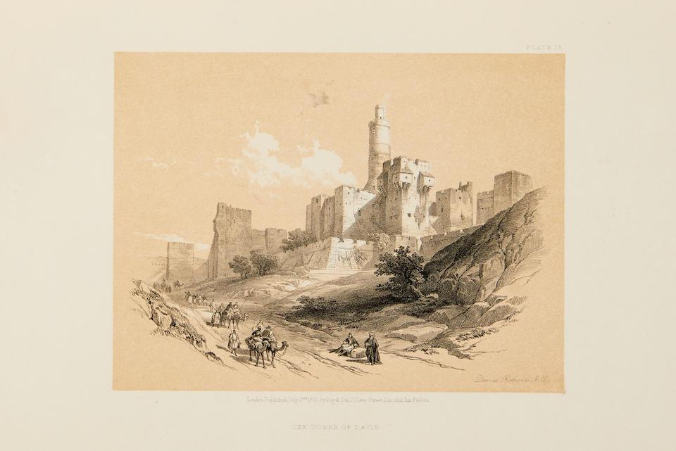 ROBERTS, DAVID. 1796-1864. The Holy Land, Syria, Idumea, Arabia, Egypt and Nubia. London: Day & Son, 1855-56.