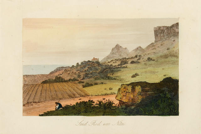 RAYE, CHARLES.  A Picturesque Tour through the Isle of Wight. London: For the Proprietor by Howlett and Brimmer, 1825.