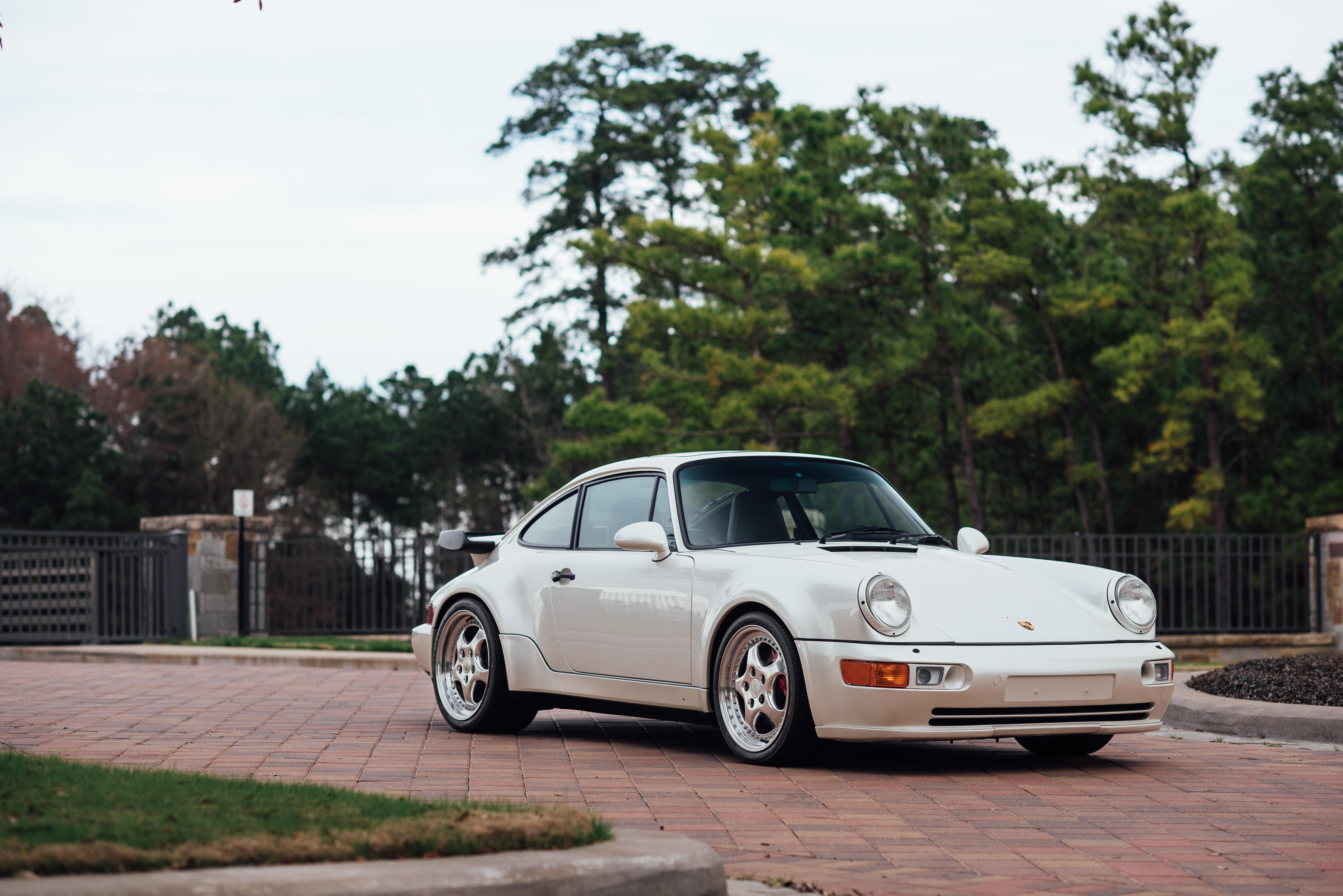 1992 Porsche 911 Turbo 3.3 CoupeVIN. WP0AA2963NS480308  Engine no. 61N01407