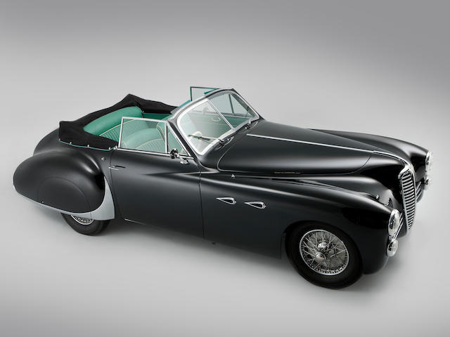 1950 Delahaye 135M Cabriolet  Chassis no. 801746