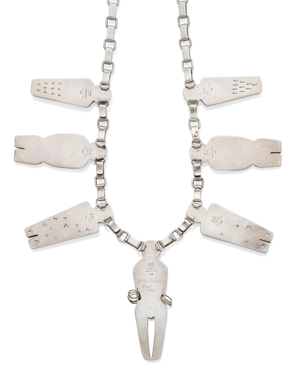 """A Denise Wallace """"Fetish Necklace"""""""
