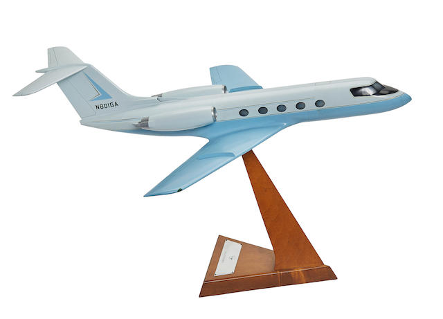 GULFSTREAM II CONTRACTOR'S MODEL.