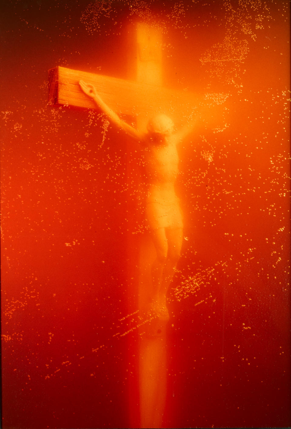Andres Serrano (born 1950); Piss Christ;