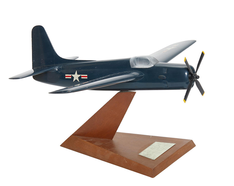 GRUMMAN AF-2S AIRCRAFT MODEL.