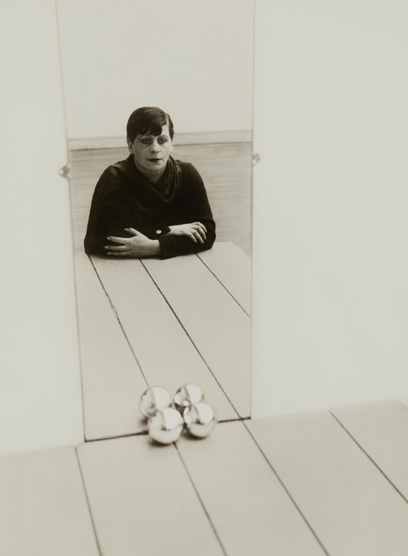 Florence Henri (American, 1893-1982); Self Portrait;