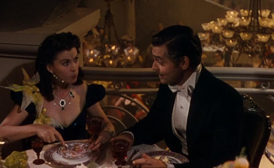 A Vivien Leigh necklace worn on Scarlett's honeymoon in Gone With the Wind