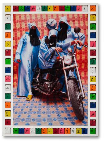 Hassan Hajjaj (Moroccan, born 1961) Nikee Rider, 2007/1428