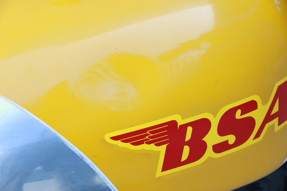 1970 BSA 441cc B44 Victor Frame no. HD13535 B44VS Engine no. HD13535B44VS