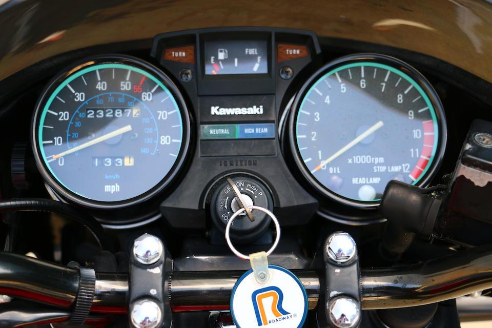 1981 Kawasaki GPZ750 Frame no. JKAKZFD15BA001950 Engine no. KZ550DE002019