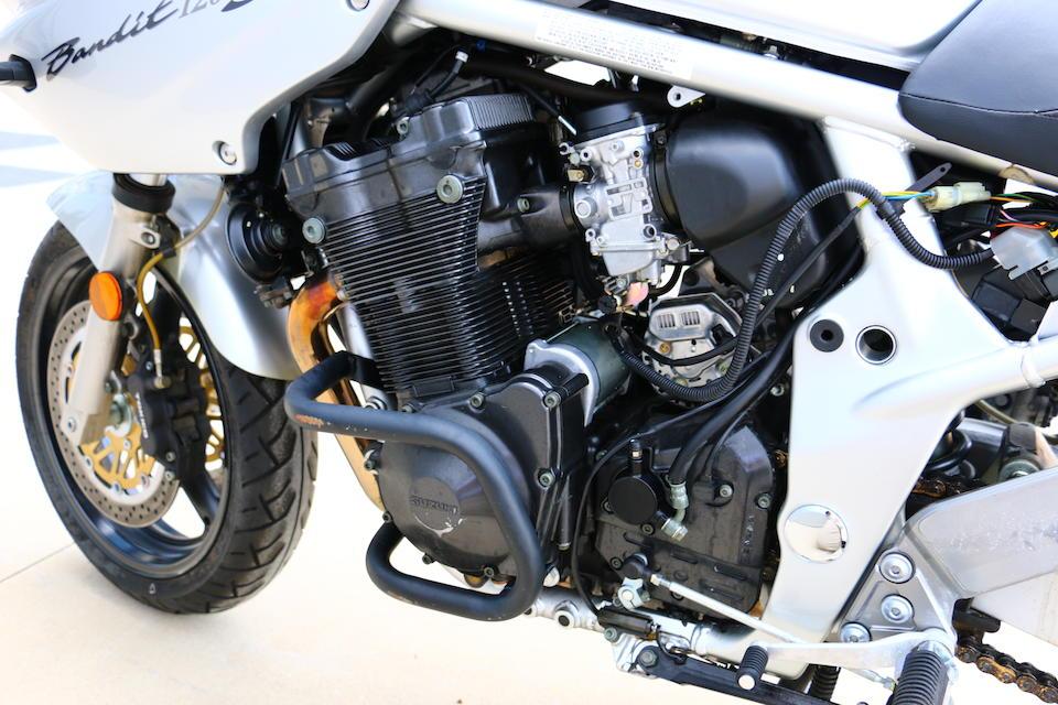 2001 Suzuki Bandit GSF1200  Frame no. JS1GVA912100847 Engine no. V720-105057