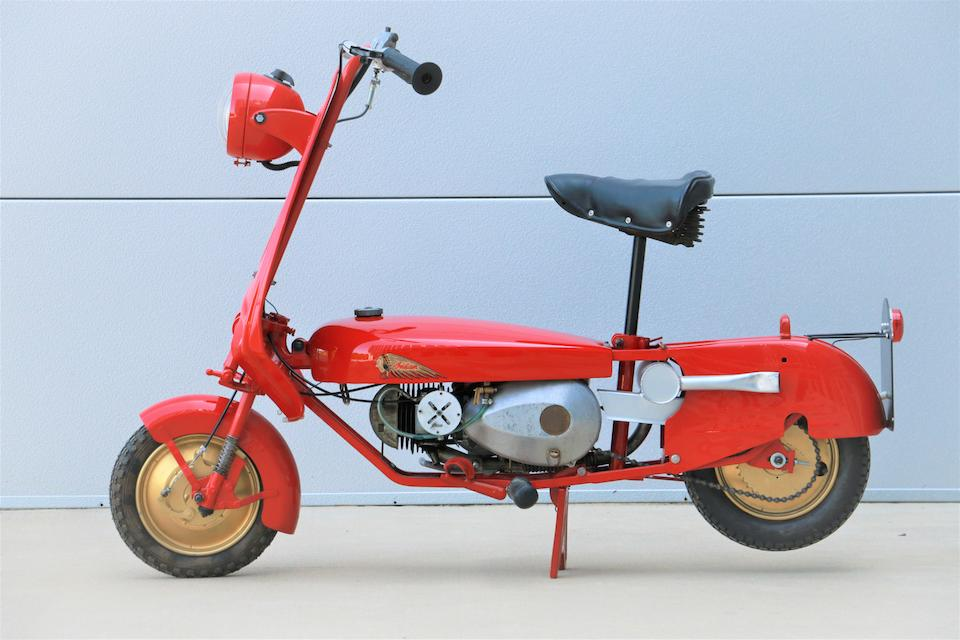 1954 Indian 98cc Papoose Folding Scooter Frame no. 25452 Engine no. 7170/4