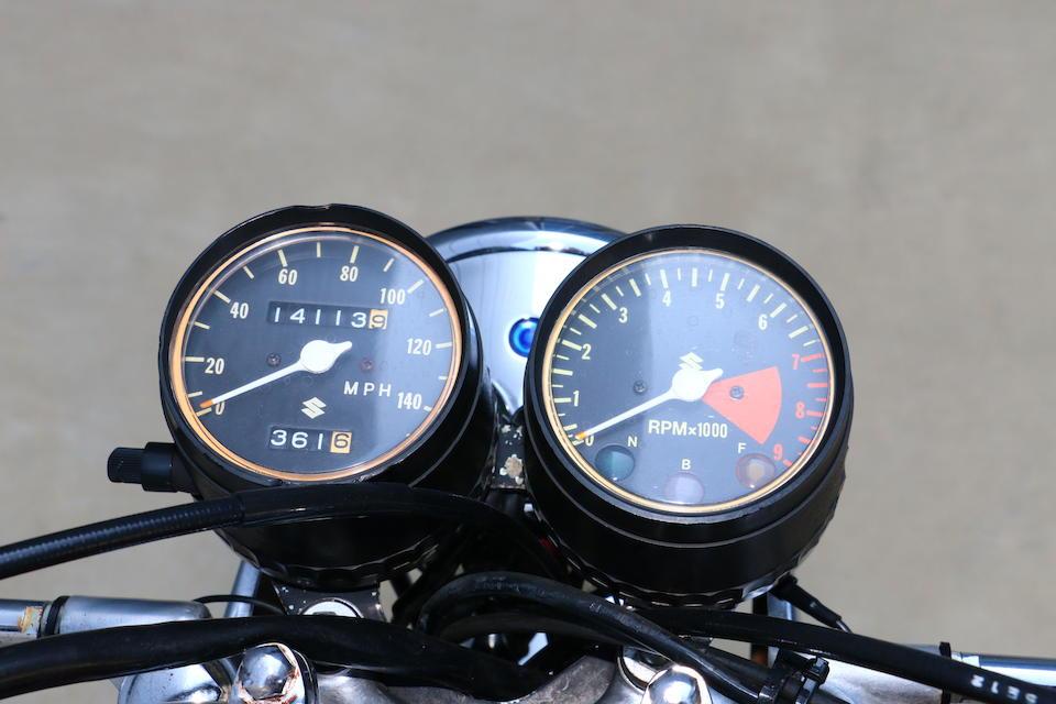 1973 Suzuki 500 Titan Frame no. T500 66696 Engine no. T500-66703