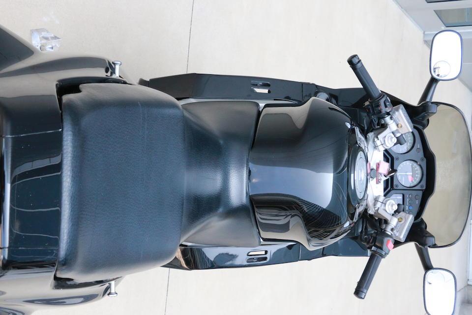 1993 Honda VFR750 Frame no. JH2RC3600PM300154
