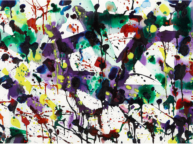 Sam  Francis (1923-1994) Untitled, 1979
