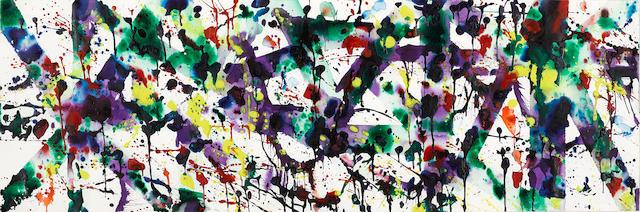 Sam  Francis (1923-1994) Untitled, 1979