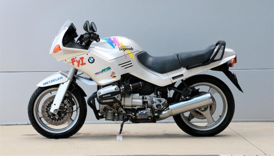 'Battle of the Legends', 1994 BMW R1100RS Racing Motorcycle Frame no. WB104160R0311300 Engine no. 00012360AF