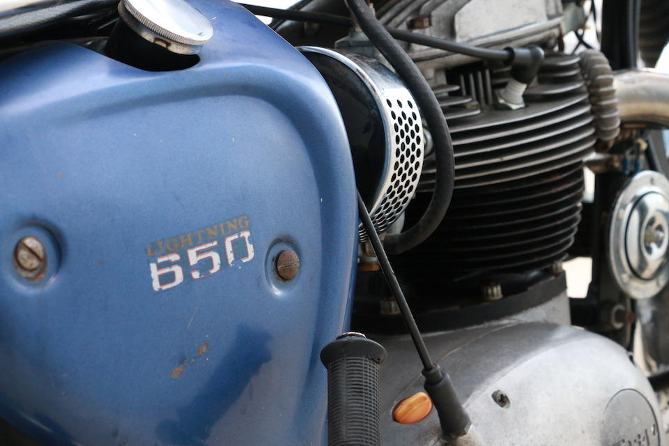 1970 BSA 650cc A65 Lightning Engine no. CD06584A65L