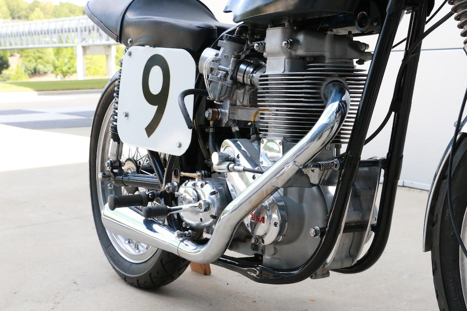 1957 BSA 500cc Gold Star Road Racing Motorcycle Frame no. CB34.529 Engine no. DBD.34.GS.5565