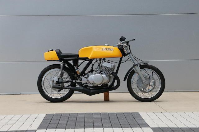 1970 Rickman Metisse-Suzuki 500 Titan Frame no. R190 Engine no. T-50063468