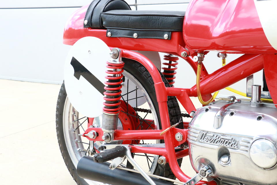 1964 Aermacchi Harley-Davidson 175cc Racing Motorcycle Frame no. 120267 Engine no. AB1038